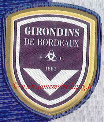 2014-15 - Panini Ligue 1 Stickers - N° 025 - Écusson Girondins de Bordeaux