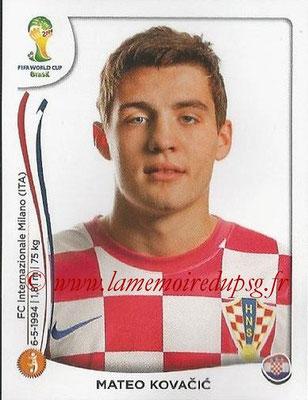 2014 - Panini FIFA World Cup Brazil Stickers - N° 064 - Mateo KOVACIC (Croatie)