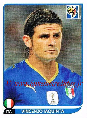 2010 - Panini FIFA World Cup South Africa Stickers - N° 428 - Vincenzo IAQUINTA (Italie)