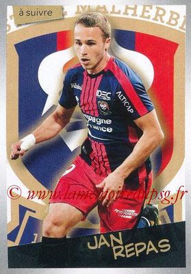 2017-18 - Panini Ligue 1 Stickers - N° 102 - Jan REPAS (Caen) (A suivre)