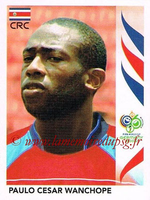2006 - Panini FIFA World Cup Germany Stickers - N° 053 - Paulo Cesar WANCHOPE (Costa Rica)