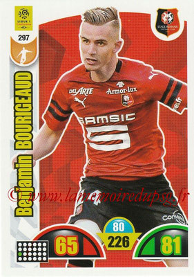 2018-19 - Panini Adrenalyn XL Ligue 1 - N° 297 - Benjamin BOURIGEAUD (Rennes)