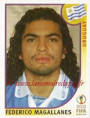 2002 - Panini FIFA World Cup Stickers - N° 076 - Federico MAGALLANES (Uruguay)