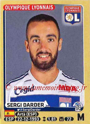 2015-16 - Panini Ligue 1 Stickers - N° 205 - Sergi DARDER (Olympique Lyonnais)