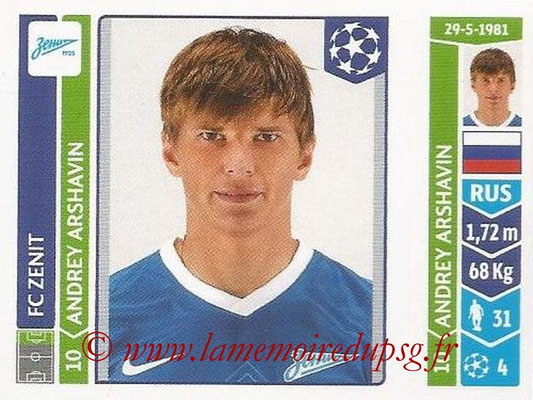 2014-15 - Panini Champions League N° 215 - Andrey ARSHAVIN (FC Zenit)