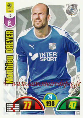 2018-19 - Panini Adrenalyn XL Ligue 1 - N° 012 - Matthieu DREYER (Amiens)