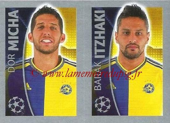 2015-16 - Topps UEFA Champions League Stickers - N° 508 - Dor MICHA + Barak ITZHAKI (Maccabi Tel-Aviv FC)
