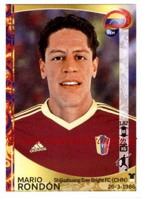Panini Copa America Centenario USA 2016 Stickers - N° 300 - Mario RONDON (Venezuela)