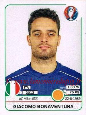 Panini Euro 2016 Stickers - N° 510 - Giacomo BONAVENTURA (Italie)