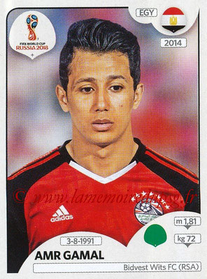 2018 - Panini FIFA World Cup Russia Stickers - N° 091 - Amr GAMAL (Egypte)