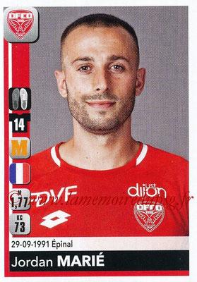 2018-19 - Panini Ligue 1 Stickers - N° 115 - Jordan MARIE (Dijon)