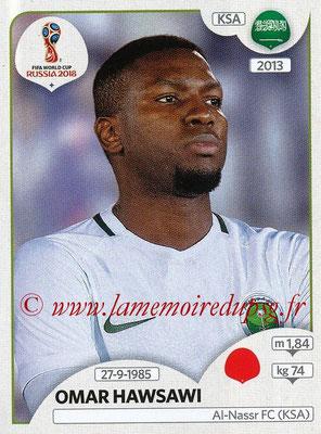 2018 - Panini FIFA World Cup Russia Stickers - N° 058 - Omar HAWSAWI (Arabie Saoudite)