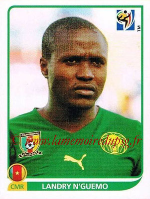 2010 - Panini FIFA World Cup South Africa Stickers - N° 404 - Landry N'GUEMO (Cameroun)