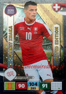 2018 - Panini Road to FIFA World Cup Russia Adrenalyn XL - N° LE-GX - Granit XHAKA (Suisse) (Limited Edition)