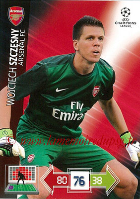 2012-13 - Adrenalyn XL champions League N° 013 - Wojciech SZCZESNY (Arsenal FC)