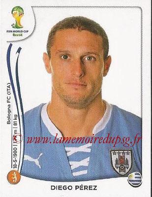 2014 - Panini FIFA World Cup Brazil Stickers - N° 270 - Diego PEREZ (Uruguay)
