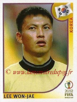 2002 - Panini FIFA World Cup Stickers - N° 243 - Lee WON-JAE (Corée)