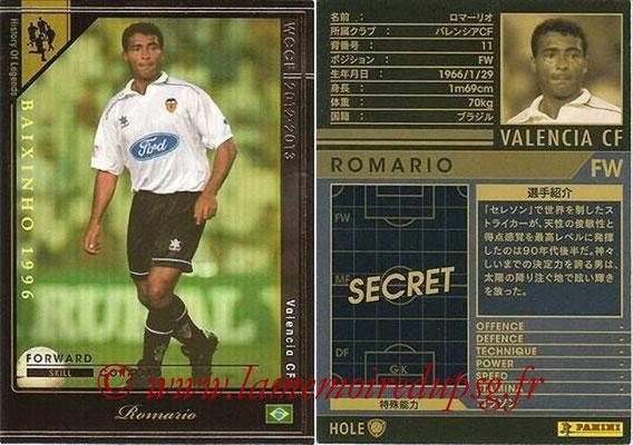 2012-13 - WCCF - N° HOLE2 - ROMARIO (FC Valence) (History of Legend)