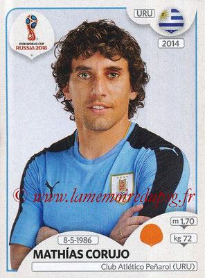 2018 - Panini FIFA World Cup Russia Stickers - N° 101 - Mathias CORUJO (Uruguay)