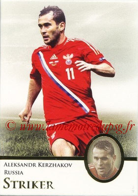 2013 - Futera World Football Unique - N° 083 - Aleksandr KERZHAKOV (Russie) (Striker)