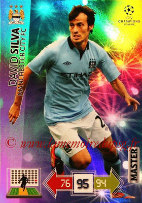 2012-13 - Adrenalyn XL champions League N° 336 - David SILVA (Manchester City FC) (Master)