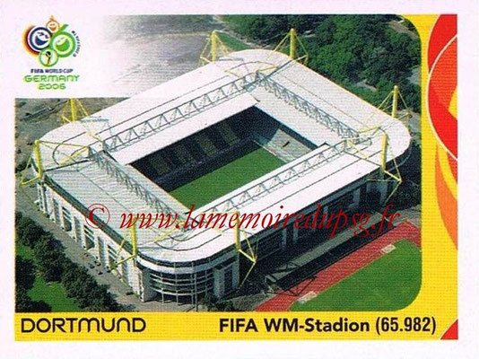 2006 - Panini FIFA World Cup Germany Stickers - N° 009 - Dortmund - FIFA WM-Stadion
