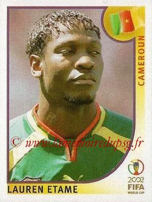 2002 - Panini FIFA World Cup Stickers - N° 379 - Lauren ETAME (Cameroun)