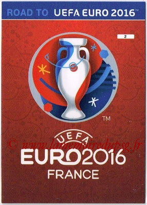 Panini Road to Euro 2016 Cards - N° 002