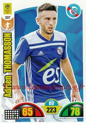 2018-19 - Panini Adrenalyn XL Ligue 1 - N° 337 - Adrien THOMASSON (Strasbourg)