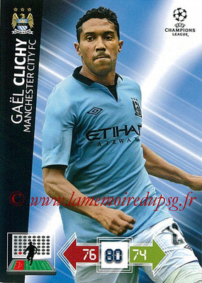2012-13 - Adrenalyn XL champions League N° 125 - Gaël CLICHY (Manchester City FC)