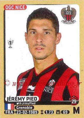 2015-16 - Panini Ligue 1 Stickers - N° 327 - Jérémy PIED (OGC Nice)