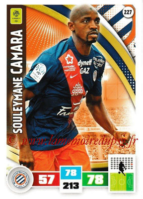 2016-17 - Panini Adrenalyn XL Ligue 1 - N° 227 - Souleymane CAMARA (Montpellier)