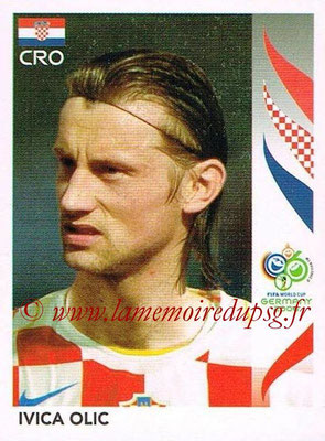 2006 - Panini FIFA World Cup Germany Stickers - N° 413 - Ivica OLIC (Croatie)