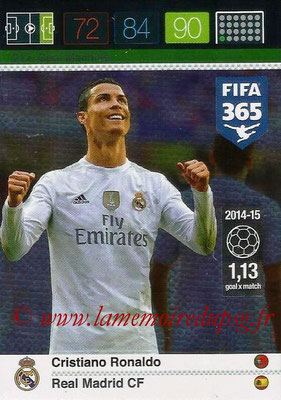 2015-16 - Panini Adrenalyn XL FIFA 365 - N° 217 - Cristiano RONALDO (Real Madrid CF) (Goal Machine)