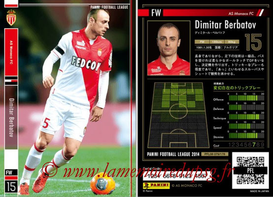 Panini Football League 2014 - PFL08 - N° 079 - Dimitar BERBATOV (AS Monaco)