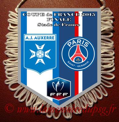 Fanions  PSG-Auxerre  2014-15