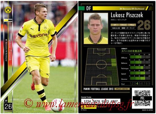 Panini Football League 2013 - PFL01 - N° 135 - Lukasz Piszczek ( BV Borussia 09 Dortmund )