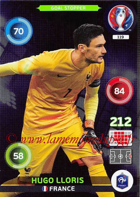 Panini Euro 2016 Cards - N° 119 - Hugo LLORIS (France) (Goal Stopper)