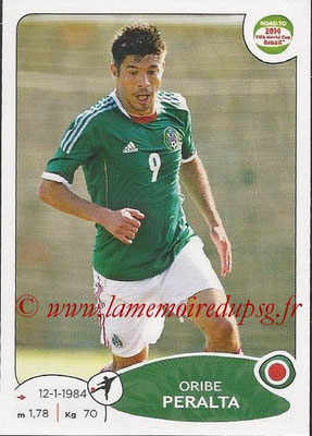 2014 - Panini Road to FIFA World Cup Brazil Stickers - N° 255 - Oribe PERALTA (Mexique)