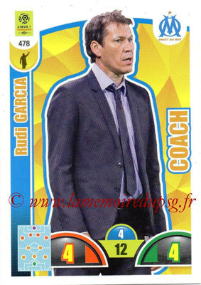 2018-19 - Panini Adrenalyn XL Ligue 1 - N° 478 - Rudi GARCIA (Marseille) (Coach)