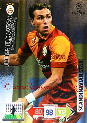 2012-13 - Adrenalyn XL champions League N° 357 - Johan ELMANDER (Galatasaray AS) (Scandinavian Star)