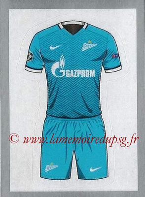 2015-16 - Topps UEFA Champions League Stickers - N° 509 - Maillot Domicile FC Zenit