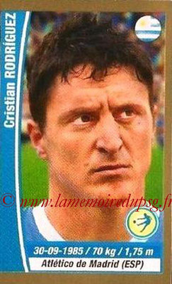 N° 217 - Cristian RODRIGUEZ (2005-Aout 2007, PSG > 2014, Uruguay)