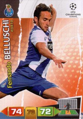 2011-12 - Panini Champions League Cards - N° 218 - Fernando BELLUSCHI (FC Porto)