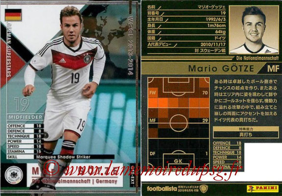 2013-14 - WCCF - N° GES-EXT - Maio GÖTZE (Allemagne) (Germain Superstars) (Extra)