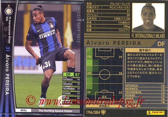 2012-13 - WCCF - N° 196 - Alvaro PEREIRA (Inter Milan)