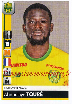 2018-19 - Panini Ligue 1 Stickers - N° 292 - Abdoulaye TOURE (Nantes)