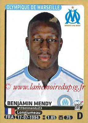 2015-16 - Panini Ligue 1 Stickers - N° 225 - Benjamin MENDY (Olympique de Marseille)