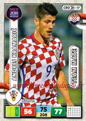 2018 - Panini Road to FIFA World Cup Russia Adrenalyn XL - N° CRO17 - Andrez KRAMARIC (Croatie)