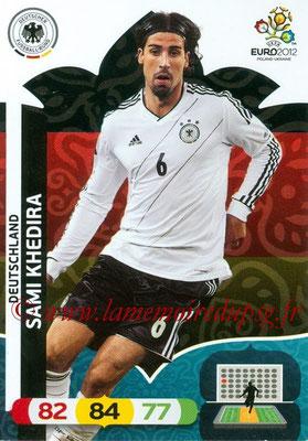 Panini Euro 2012 Cards Adrenalyn XL - N° 033 - Sami KHEDIRA (Allemagne)